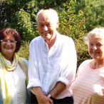 Von links: Christa Naaß, Hubertus Fritzsching, Rita Balzer